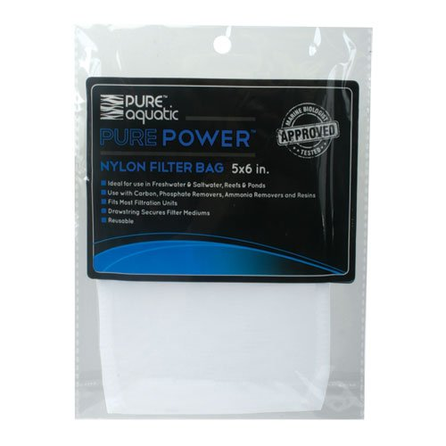 Pure Aquatic Pure Power Nylon Mesh Filter Bag-4.25 In X 6 In front-114204