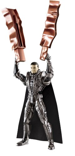 Man Of Steel Movie: Deluxe Action Figure General Zod - 1