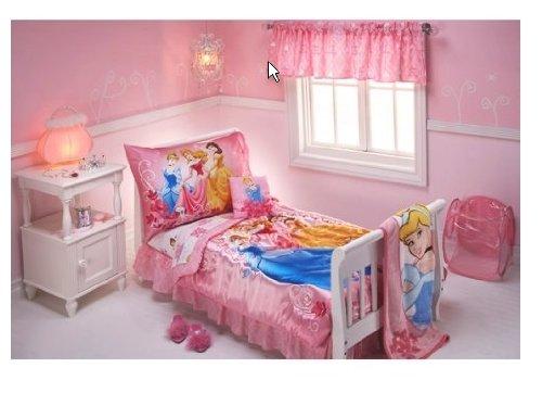 Disney - Princess Pink Garden 10-piece Toddler Bedding Set