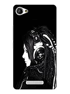 TREECASE Designer Printed Hard Back Case Cover For Gionee M2