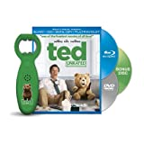 TED (Unrated) Blu-ray+DVD+Digital Copy+Ultraviolet Exclusive Set BONUS Talking Bottle Opener and BONUS 30 Minute Disc of hilarious content