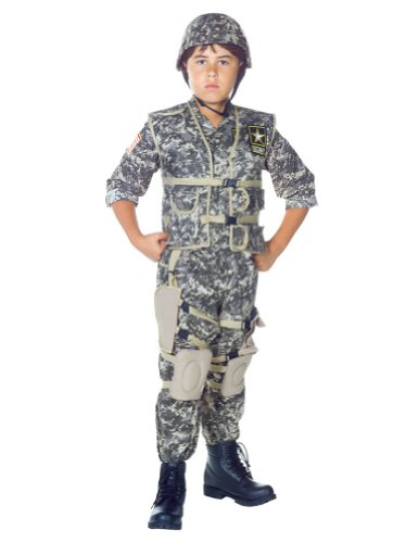 boys - Us Army Ranger Kids Costume Md 6-8 Halloween Costume