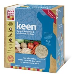 Honest Kitchen Keen, Low-Gluten Dehydrated Raw Dog Food w/ Turkey, 10lb