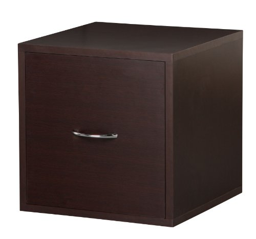 Foremost 390109 Modular File Cube Storage System, Espresso