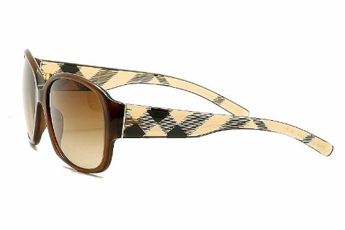 Burberry  Burberry BE4128 Sunglasses-3011/13 Brown (Brown Gradient Lens)-59mm