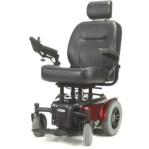 MEDALIST450RD22CS - Drive Medical Medalist Heavy Duty Power Wheelchair, 22 Seat, Red