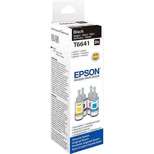 Epson T6641 Tintenpatrone EcoTank, Singlepack schwarz