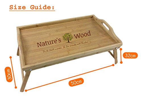 Premium Breakfast Bed Tray From Natures Wood Best For