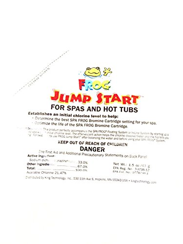 Spa Frog Jump Start Packet (Spa Frog Starter Kit compare prices)