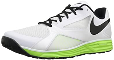 Nike Men's Lunar Edge 15 White/Black/Flash Lime Training Shoes 7.5 Men US