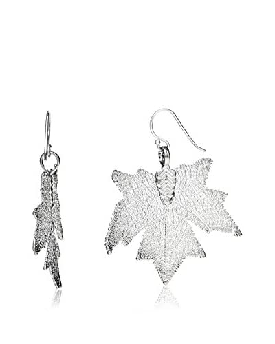 Ana Natural Leaves Pendientes HD042 Plata