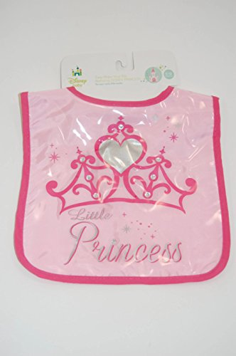 Disney Princess Easy Wipe Vinyl Bib - 1