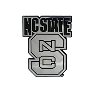 Buy NCAA North Carolina State Wolfpack Chrome Automobile Emblem by Team ProMark