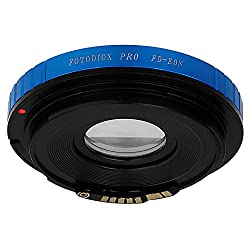 Fotodiox 10LA-FD-EOS-G-C Lens Mount Adapter with Dandelion AF Focus Confirmation Chip, Canon FD, New FD, FL Lens to Canon EOS Camera Fits Canon