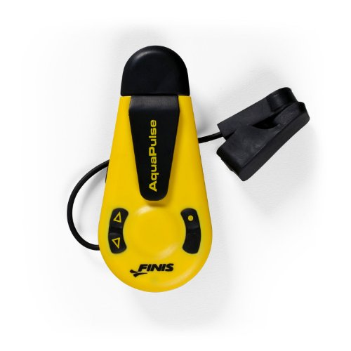 Finis Aqua Pulse Heart Rate Monitor - Black/Gold