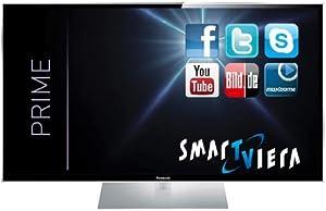 Panasonic TX-P50GTW60 127 cm (50 Zoll) 3D Plasma-Fernseher, EEK C (Full HD, 3000Hz ffd, DVB-S/-T/-C, WLAN, USB) schwarz