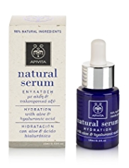 APIVITA Natural Serum with Aloe & Hyaluronic Acid 15ml