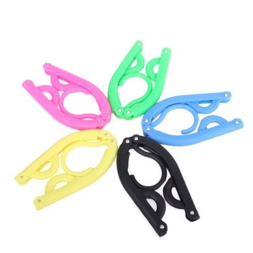 5Pcs Magic Outdoor Camping Portable Folding Plastic