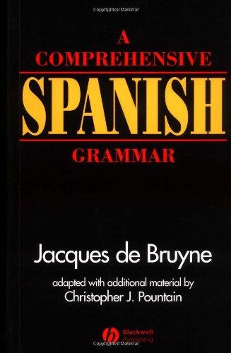 A Comprehensive Spanish Grammar front-984109
