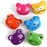 Kikkerland Monsters Bag Clips, Set of 6