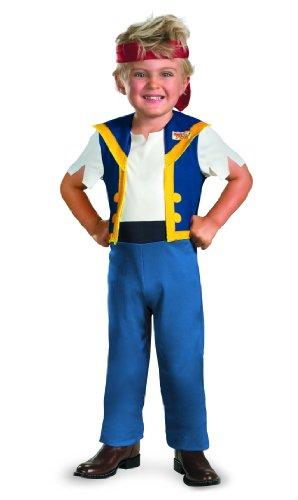 Disney Jake And The Neverland Pirates Jake Classic Costume, Large