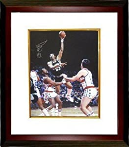 Artis Gilmore Autographed Hand Signed San Antonio Spurs 16x20 Photo Custom Framed HOF... by Hall of Fame Memorabilia