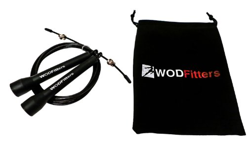 WODFitters Ultra Speed Cable Jump Rope for Cross