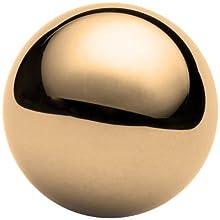 Brass C260 Ball, Grade 200 (Metric)