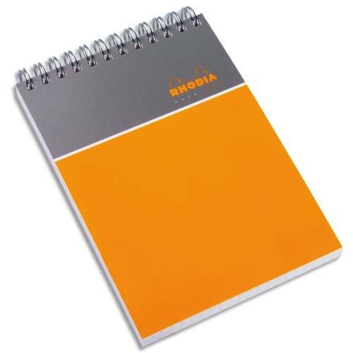 Rhodia A4 Note Pad - Orange