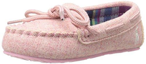 Polo Ralph Lauren Kids Dayton Moccasin Flat (Toddler),Light Pink,5 M Us Toddler