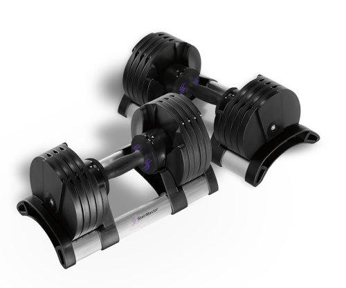 stairmaster-110001-pair-of-twist-lock-adjustable-dumbbells-100-pound