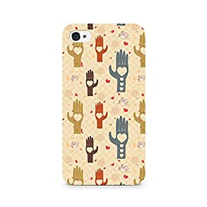 Rubix Customized Designer Hard Back Phone Case of Heart in Hand for Micromax Canvas Juice 3 Q392