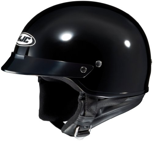 Hjc Cs-2N Black Size:Xxl Open Face Motorcycle Helmet
