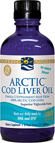Arctic Cod Liver Oil (Unflavored) 8Oz