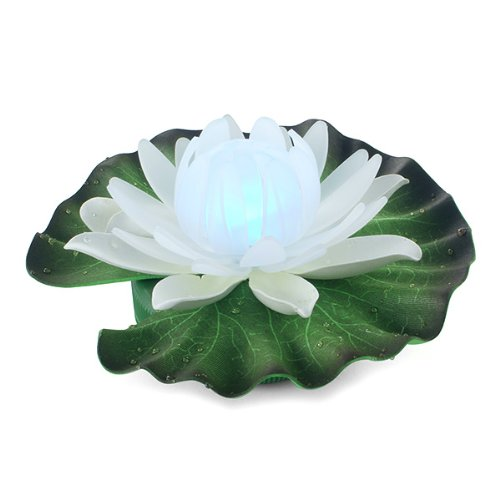 Master Craft Products Sd0214 Floating Color Changing Water Lily