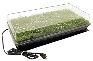 Hydrofarm CK64050 Germination Station with Heat Mat