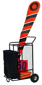 Champion Sports Football Equipment Cart (Black)