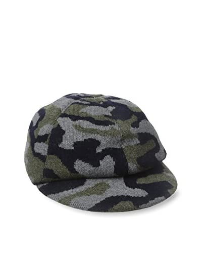 Rossovivo Men's Camo Viser Hat
