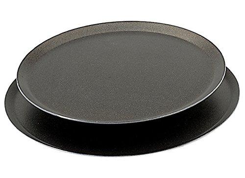 De Buyer 8136.28 'Choc' Tourtière Ronde Antiadhésive - Aluminium Revêtu - bords relevés - Ø 28 cm