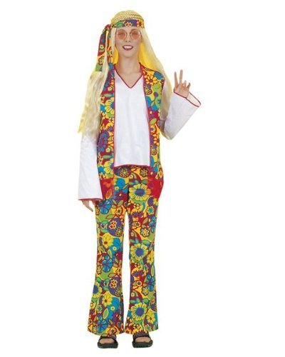 Forum Novelties 53225 Hippie Dippie Woman Adult Costume