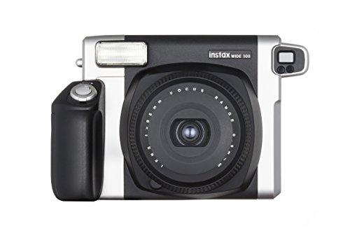 Fujifilm Instax 300 Wide Fotocamera Istantanea, Stampe Formato 62x99 mm, Nero/Argento