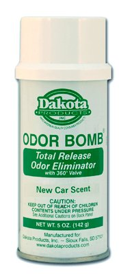 5oz. Dakota Odor Bomb Car Odor Eliminator - New Car Scent
