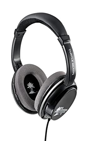 Turtle Beach M5 Mobile Gaming Headset  - Black & Silver (PlayStation Vita/Nintendo 3DS)
