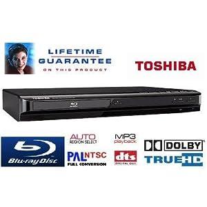 Toshiba BDX1200 Blu-Ray player, Plays any region Standard