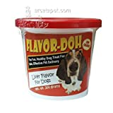 Flavor-Doh Liver Flavor for Dogs, 200 gm.
