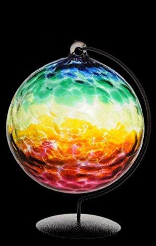 Rainbow Dancer Large Glass Friendship Ball
