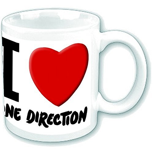 One Direction 1D I Love One Direction New Official Boxed Mug