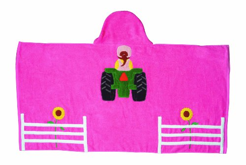 Embroidered Towel Wraps