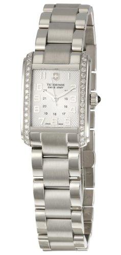 Victorinox Swiss Army Women's 241186 Vivante Silver Guilloche Dial Watch