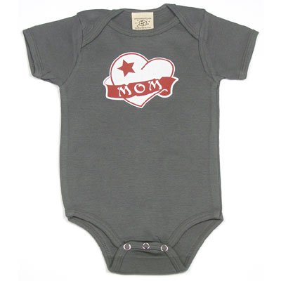 Mom Heart Tattoo on Infant Onesie - Buy Mom Heart Tattoo on Infant Onesie -